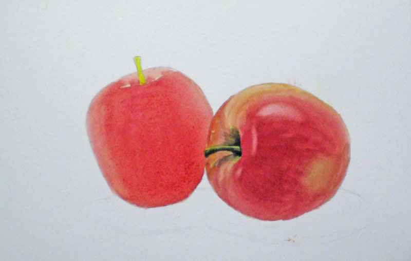 apple painting tutorial 11