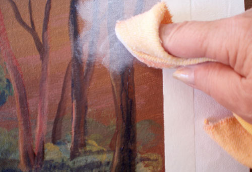 glazing oil painting demonstration