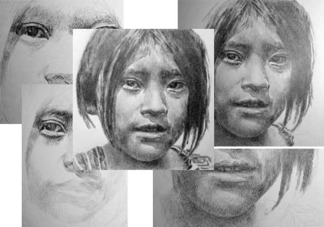 Pencil Portrait Drawing Tutorial Pdf