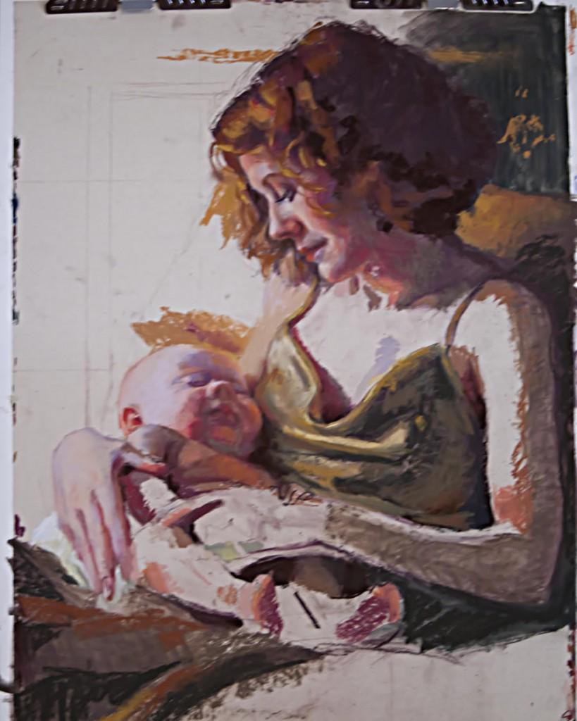 pastel portrait techniques