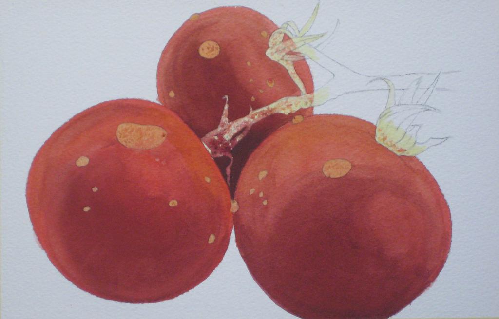 realistic watercolor painting tutorial