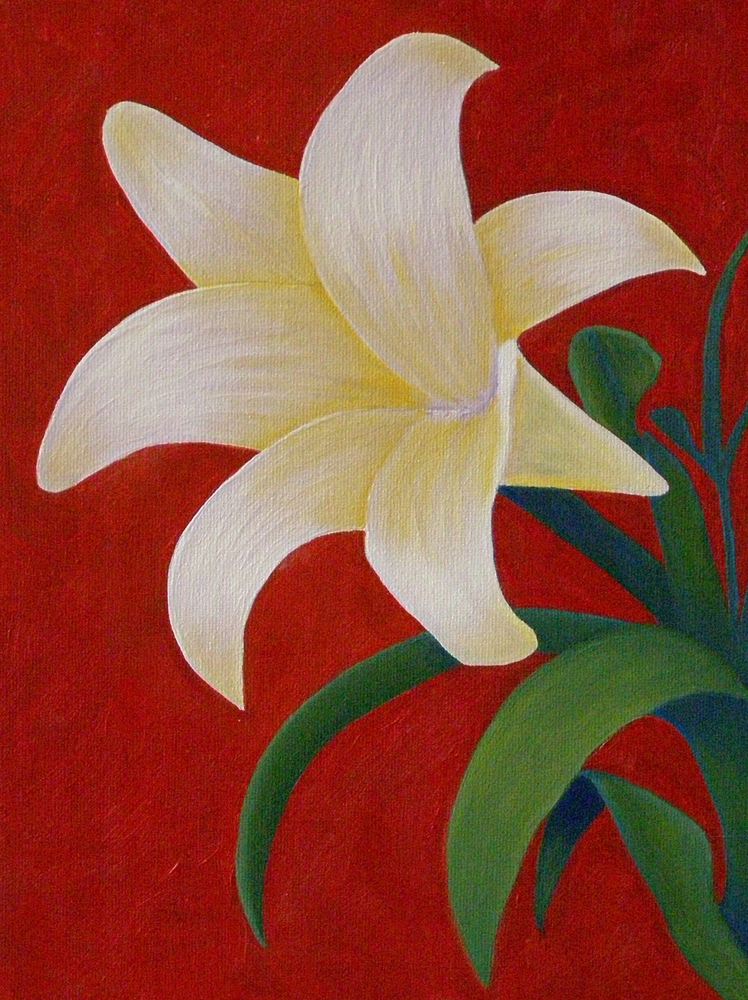 lily painting lesson 3