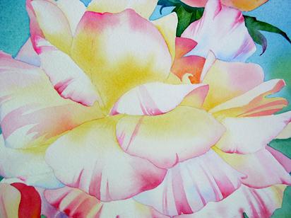 flores aquarela iniciantes 7