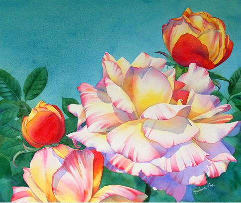 flores aquarela finais