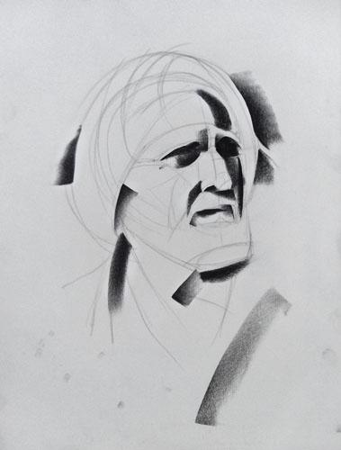 charcoal portrait techniques 3