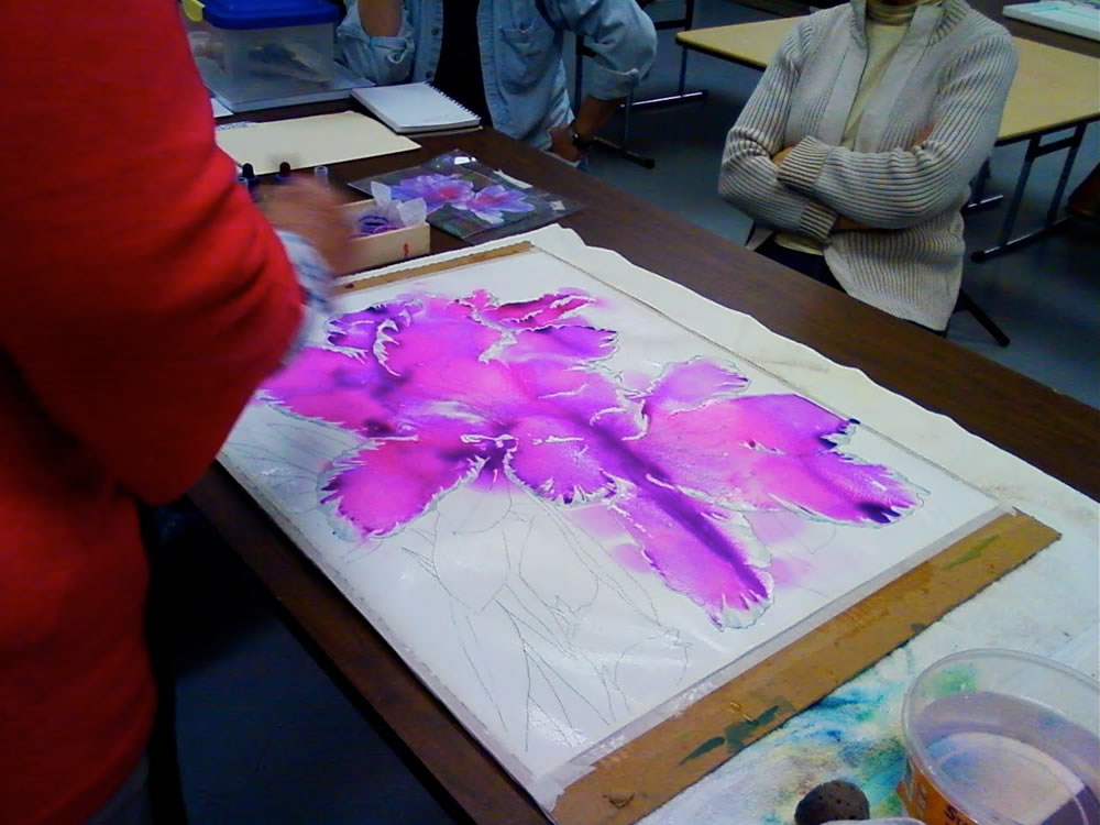 pouring watercolor demo 4