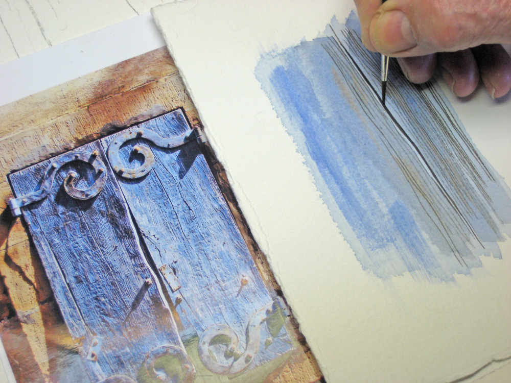 Watercolour tutorial shutters for Watercolor painting for beginners step by step