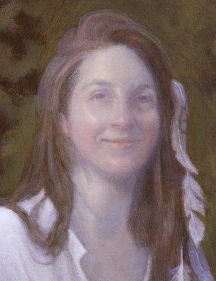 portrait painting demonstration