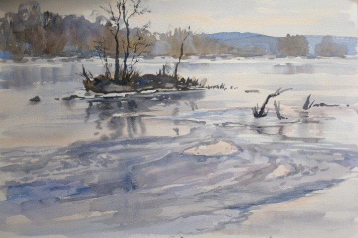 aquarela inverno 1