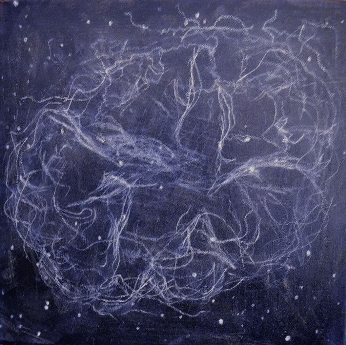 "Step by Step Acrylic Painting Demo - ""Crab Nebula""•Art ..."