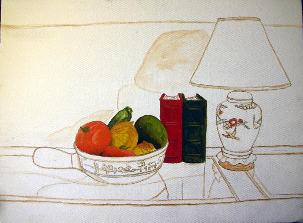 Still Life Painting Demonstration Using Genesis Heat Set