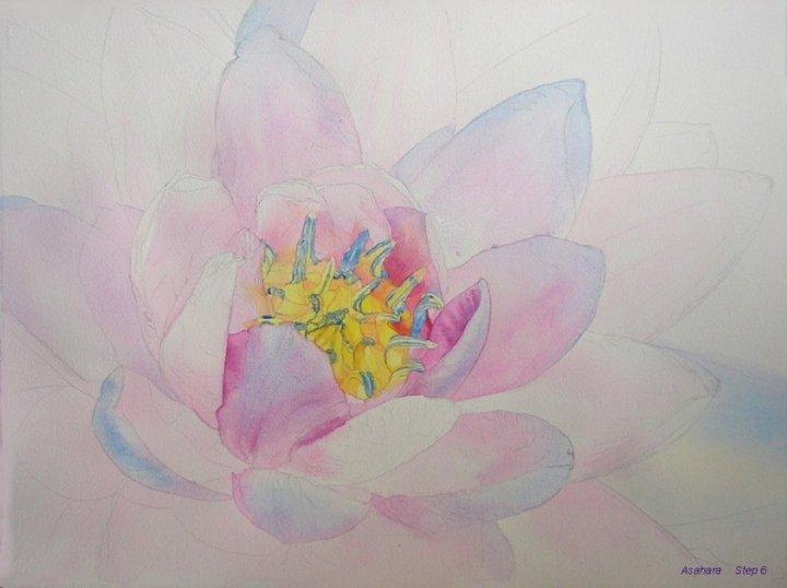 watercolor flower techniques