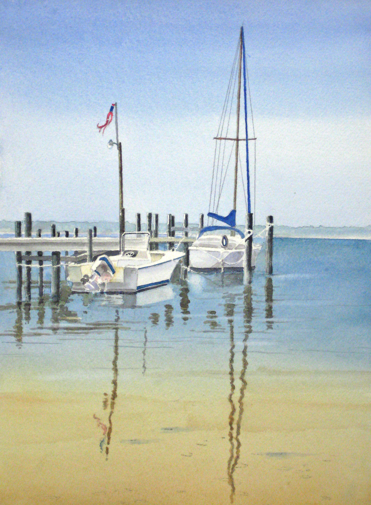 Painting Seascapes in Watercolour