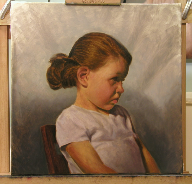 Oil Portrait Demonstration•Art Instruction Blog