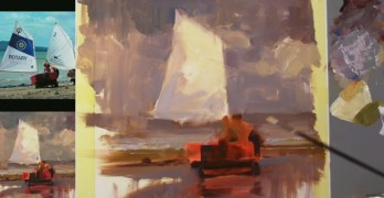 Richard Robinson Painting Demo