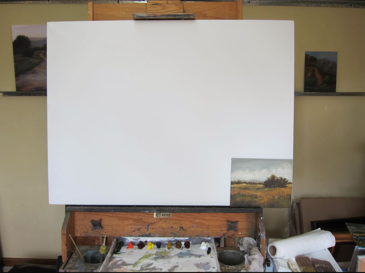 oil painting demo 1