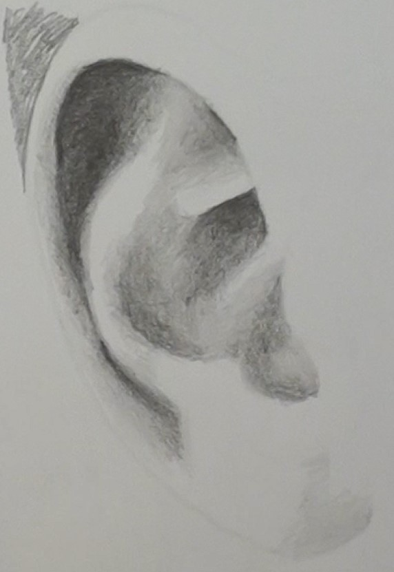 How to Draw a Realistic Ear - Step by Step Drawing ...