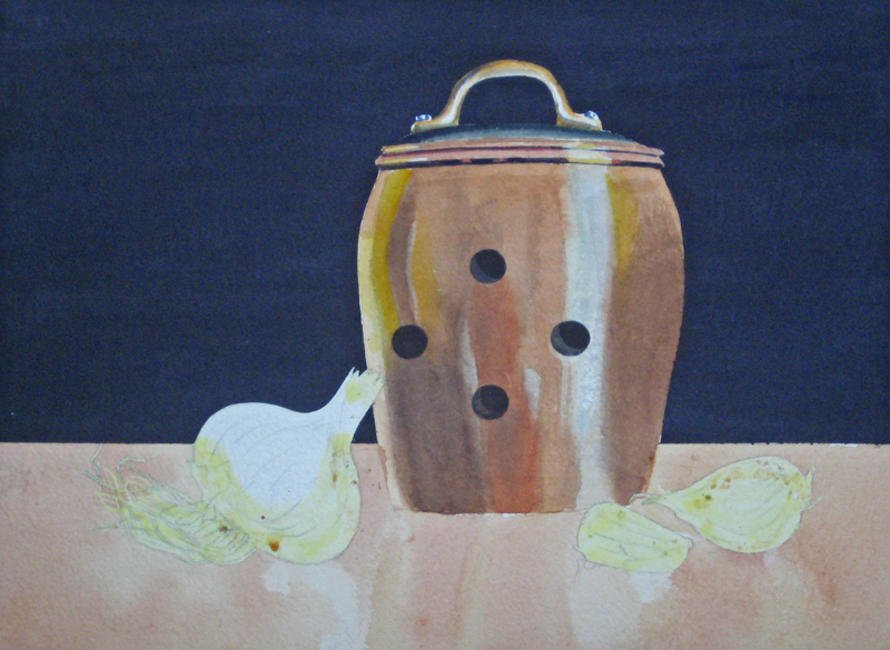how to paint a still life in watercolor