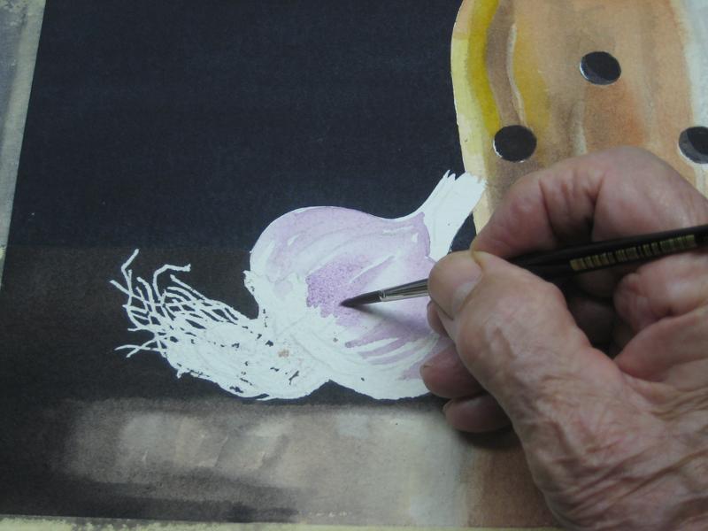 watercolour paint techniques