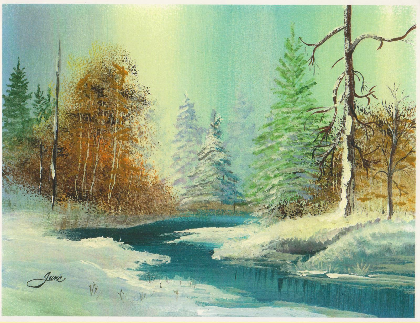 Watercolor painting artists websites - Artist Spotlight June Smith