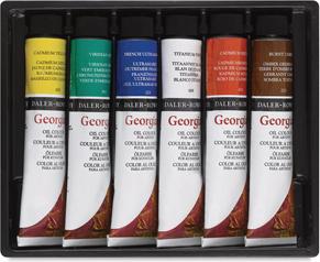 Daler-Rowney Georgian Oil Colors
