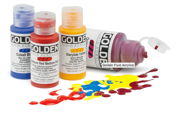 Golden Fluid Acrylics Review